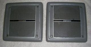 1987 90 Dodge Raider Side Wall Gray Plastic Mitsubishi Speaker Grill