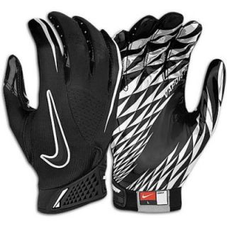 NIKE ZOOM VAPOR FOOTBALL GLOVES MENS XXL BLACK WHITE NWT