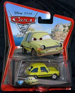 New Disney Pixar Cars 2 Diecast Toy Car Acer Lime Green Rusty Pacer 12