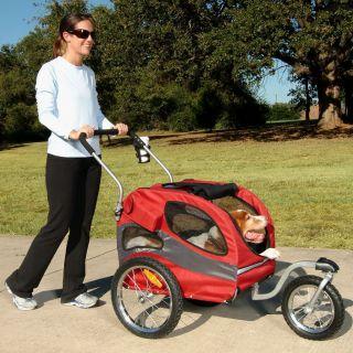 Medium Dog up to 50 lbs Pet Bicycle Bike Trailer Stroller Jogger