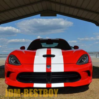 Dodge Viper 8 Rally Racing Stripes SRT 10 GTS Decal Sticker Vinyl