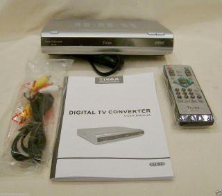 Tivax STB-T8 Digital to Analog TV Converter Box