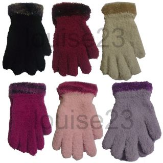 G55 Boutique Designer Range Feather Touch Cosy Soft Cute Glove with