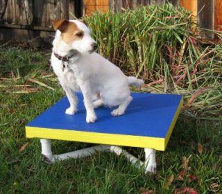 Dog Agility Equipment Mini Pause Table