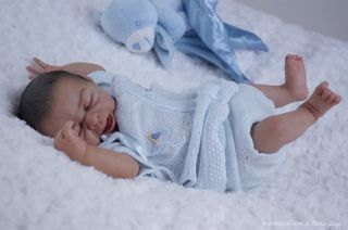 BEAUTIFUL~PREEMIE~REBORN BABY DOLL KIT~TAITE / DENISE PRATT~SOFT VINYL
