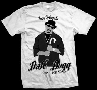 nate dogg lost angels t shirt white price £ 9