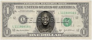 Vernon Davis Dollar Bill Mint Real $$ Celebrity Novelty Collectible