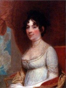 Dolley Madison Mrs James Madison Stuart Oil Repro