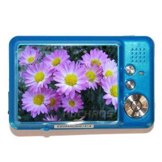 New 2 7 TFT 12MP 8x Zoom Blue Digital Camera Video Recorder DC560
