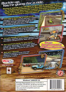 SPRINT CARS Road to Knoxville Dirt Track Racing NEW BOX