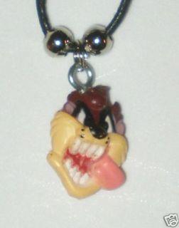 Taz Tasmanian Devil Charm Necklace New Looney Tunes A