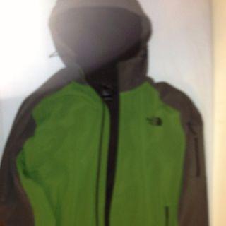 The North Face Apex Hoodie Jacket Coat Gray Green Men Mens XXL 2XL
