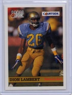 Dion Lambert 1992 Courtside 43 RC Rookie UCLA Bruins