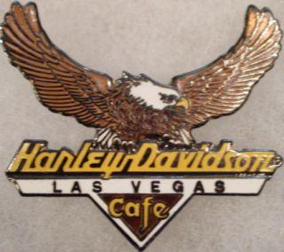 Harley Davidson Cafe Las Vegas American Bald Eagle Pin