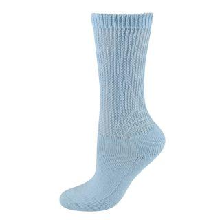 Dr Scholls Womens Socks Diabetes Circulatory Crew Blue 1 Pair