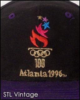 Vtg 90s Logo 7 Dope Logo 1996 Atlanta Olympics USA Snapback Hat Cap