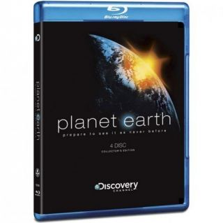 Planet Earth Discovery Channel Collectors Edition 4 disc blu ray