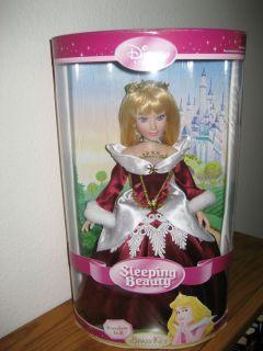 Disney Brass Key Doll Holiday Edition Sleeping Beauty Aurora 13 2005