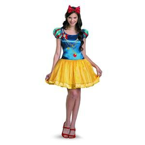 New Teen Girl Disney Snow White Apple Dress Halloween Costume Size s 4