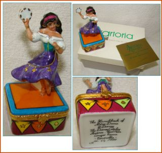 Artoria Limoges Box Disney Character Esmeralda