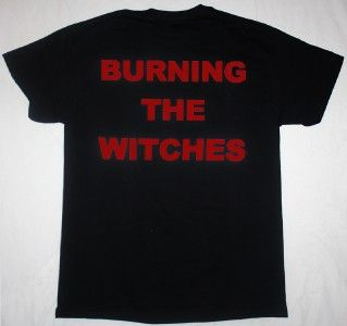 BURNING THE WITCHES84 GERMAN HEAVY METAL DORO PESCH NEW BLACK T SHIRT
