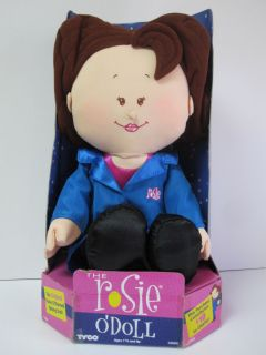 Vintage Rosie ODonnell ODoll by Tyco Plush Talking Doll Toy 1997