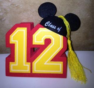 DISNEY MICKEY MOUSE CLASS OF 2012 GRADUATION CAR ANTENNA TOPPER BALL