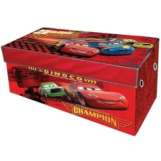 Disney Cars 2 Collapsible Storage Box Trunk Kids Room Boy Free SHIP