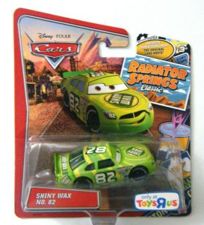 DISNEY PIXAR CARS RADIATOR SPRINGS CLASSIC SHINY WAX 82 RARE