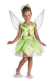 disney tinker bell fairy kids halloween costume
