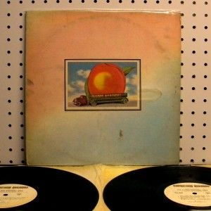 The Allman Brothers Band Eat A Peach 1972 Vinyl 2 LP Set VG 2CP 0102