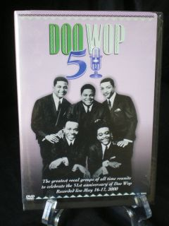 DOO WOP MUSIC 51 YEAR ANIVERSARY DVD 30 DIFFERENT PERFORMERS