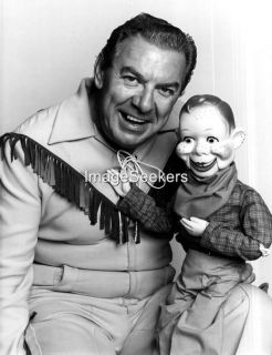 Howdy Doody and Buffalo Bob Smith Publicity Reprint 4 x 6 Marionette