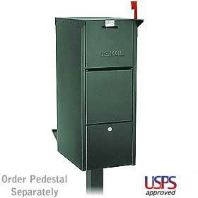 XL Locking Mailbox Front Rear Doors Save $50