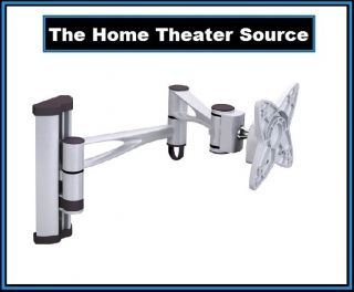 Silver Articulating Wall Mount Bracket Fit FOR17192123inch