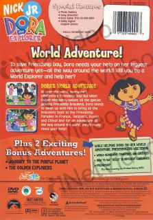 dora the explorer world adventure new dvd original title dora the