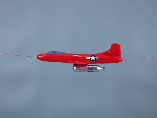 Douglas Skystreak D 558 1 Allyn Model Fly By Wire Jetex CO2 Marion