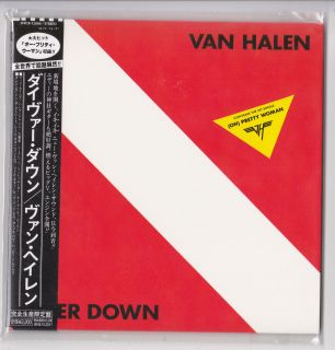 Van Halen Diver Down WPCR 12869 Japan Mini LP CD New