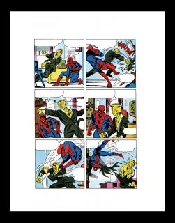 steve ditko spider man 28 rare production art pg 10