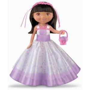 Fisher Price Dora The Explorer Flower Girl Doll New