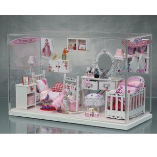 Miniature DIY Doll House Dollhouse Kit Set Girl Kid Children Cute Gift
