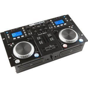 Gemsound CMP500 Dual CD USB  Player DJ Mixer CD Mix Station Combo