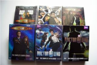 DOCTOR WHO COMPLETE SERIES SEASON 1 6 1 2 3 4 5 6   DVD NEW & SEALED