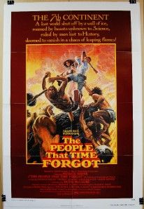 THAT TIME FORGOT Org 27 x 41 Movie Poster PATRICK WAYNE DOUG MCCLURE