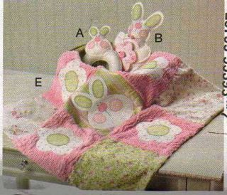 Blanket Hooded Towel Diaper Cake Burp Cloth Toy Sewing Craft Pattern