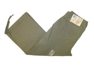 Dockers Stretch Cropped Cargo Capri Moss Green Ö