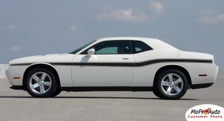 2012 Dodge Challenger Beltline Graphics Stripes Decals