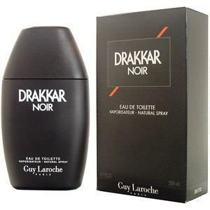 DRAKKAR NOIR Guy Laroche Cologne for Men 6 7 6 8 oz BRAND NEW