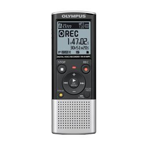 Olympus VN 8100pc Digital Voice Recorder Silver Black 142600