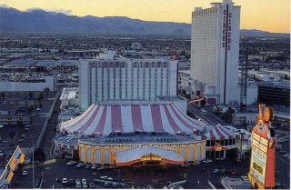 Vintage Las Vegas Postcard    Circus Circus Hotel & Casino   (1986)